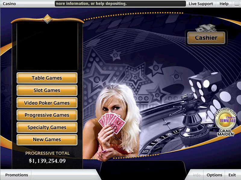 Click to view Grand Vegas Casino 2.1 screenshot